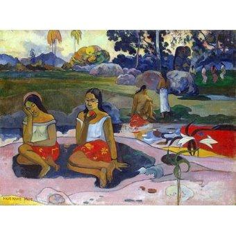 - Quadro -Nave Nave Moe- - Gauguin, Paul