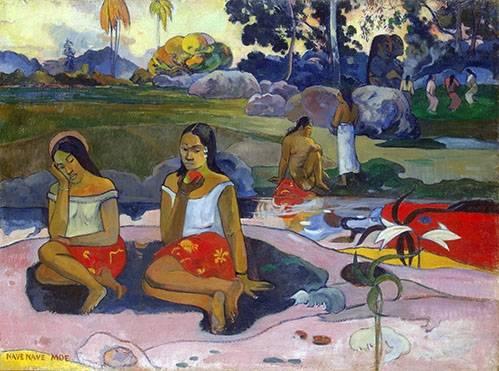 quadros-de-paisagens - Quadro -Nave Nave Moe- - Gauguin, Paul