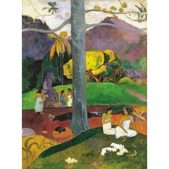 - Quadro -Mata Mua (in olden times), 1892- - Gauguin, Paul