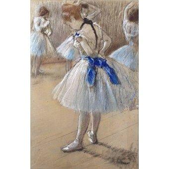 pinturas de retratos - Quadro -Dançarina- - Degas, Edgar