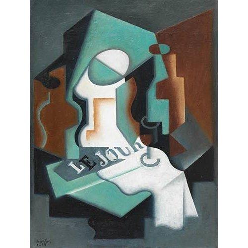 Quadro -Garrafa e Fruteira, 1919-