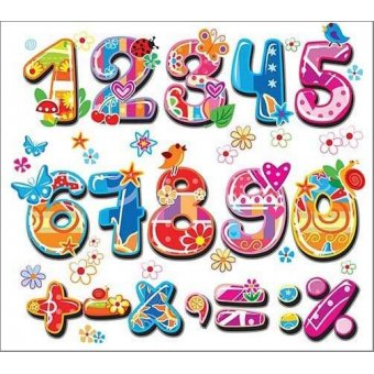for children - Picture -Numbers and signs- - Illustrations for children