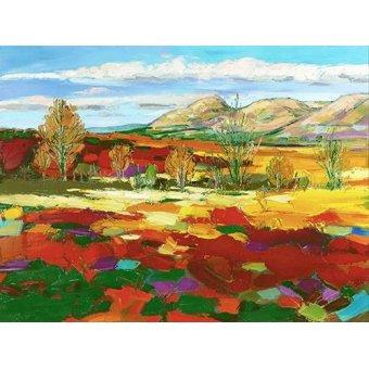 cuadros de paisajes - Cuadro -Otoño Calido- - Ricardo, Emilio