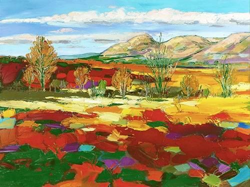 quadros-de-paisagens - Quadro -Outono quente- - Ricardo, Emilio