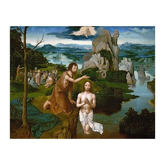 Quadro -Baptism of Christ_Bautismo de Cristo-