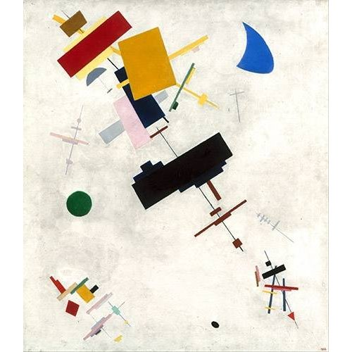 Quadro -Suprematist Composition No.56, 1936-