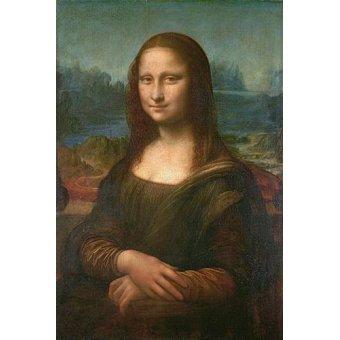 portrait and figure - Picture -La Gioconda- - Vinci, Leonardo da
