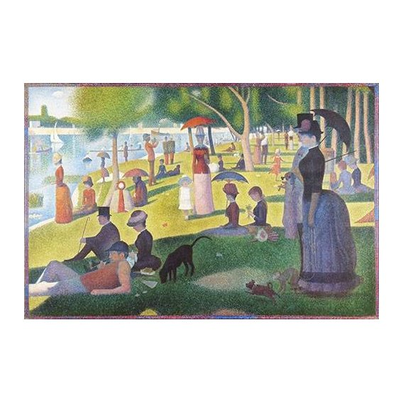Quadro -Sunday Afternoon on the Island of La Grande Jatte, 1884-86-
