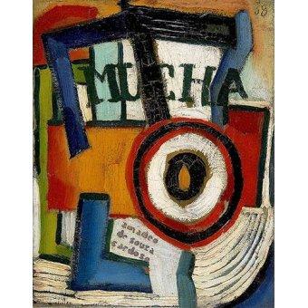 cuadros abstractos - Cuadro -Mucha- - Souza-Cardoso, Amadeo de