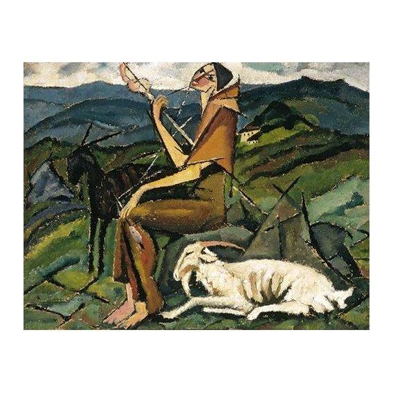 Quadro -Fiandeira, 1913-