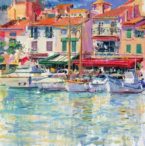 quadros-modernos - Quadro -Mirabeau, 1997 (oil on canvas) - - Graham, Peter