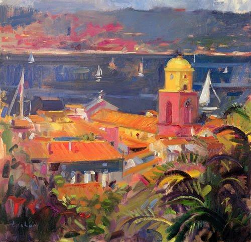 quadros-modernos - Quadro -St Tropez Sailing, 2002 - - Graham, Peter