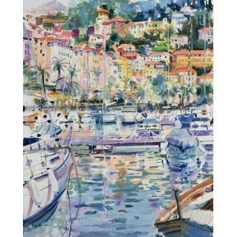 quadros de paisagens marinhas - Quadro -Riviera Yacht, 1996 - - Graham, Peter