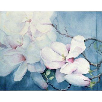 quadros de flores - Quadro -Magnolia Soulangeana (horizl)- - Armitage, Karen