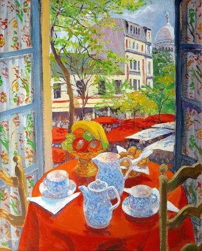 quadros-modernos - Quadro -Montmartre, 2003- - Ireland, William