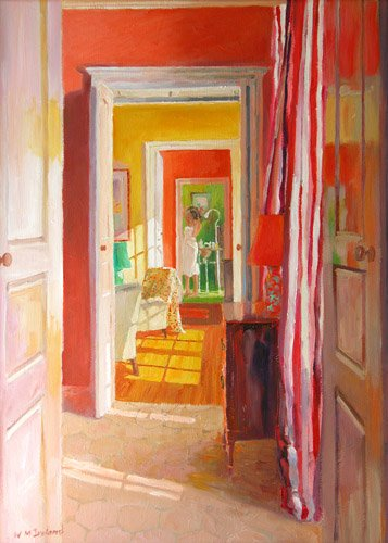 quadros-modernos - Quadro -Chateau Tanesse, 2003- - Ireland, William