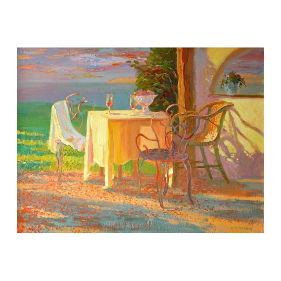 Quadro -Evening Terrace, 2003-