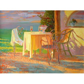 Quadros para sala de jantar - Quadro -Evening Terrace, 2003- - Ireland, William