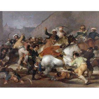 - Quadro -El 2 de mayo de 1808, la carga de los Mamelucos- - Goya y Lucientes, Francisco de