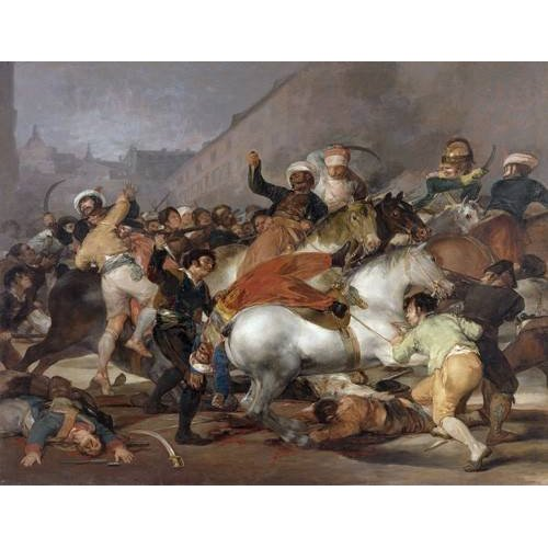 Quadro -El 2 de mayo de 1808, la carga de los Mamelucos-
