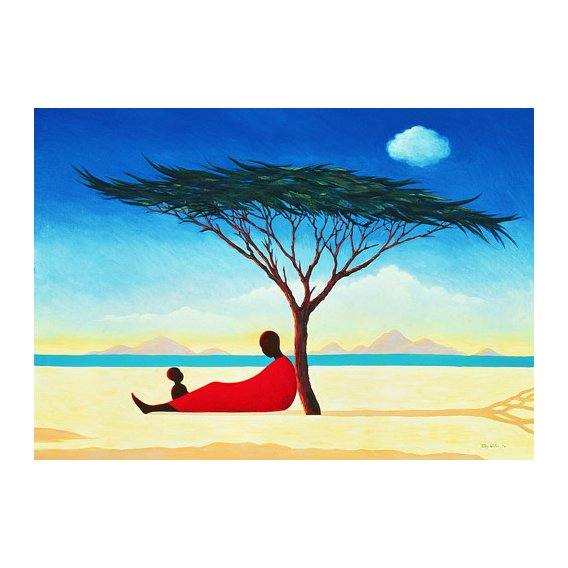 Quadro -Turkana Afternoon, 1994-