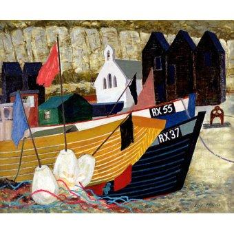 quadros de paisagens marinhas - Quadro -Hastings Remembered - - Hains, Eric