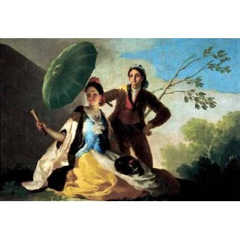 - Quadro -El quitasol, 1777- - Goya y Lucientes, Francisco de