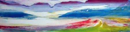 quadros-abstratos - Quadro -Abstract Composition- - Gibbs, Lou