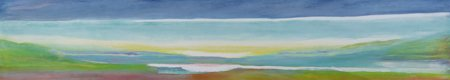 quadros-abstratos - Quadro -Just Above Sea Level, 2004- - Gibbs, Lou