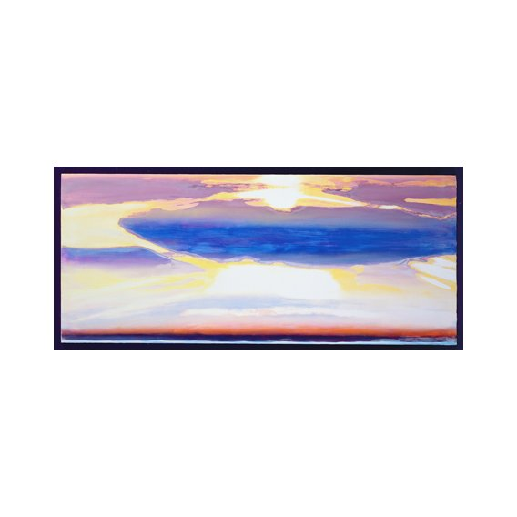 Quadro -Skyscape (mixed media)-