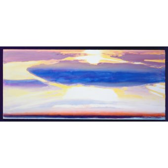 - Quadro -Skyscape (mixed media)- - Gibbs, Lou