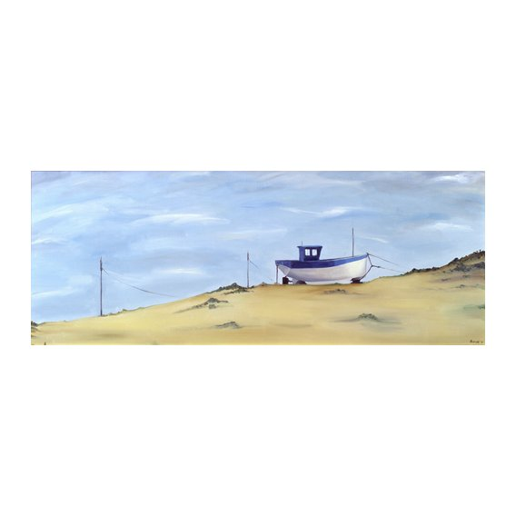 Quadro -Beached (oil on canvas)-
