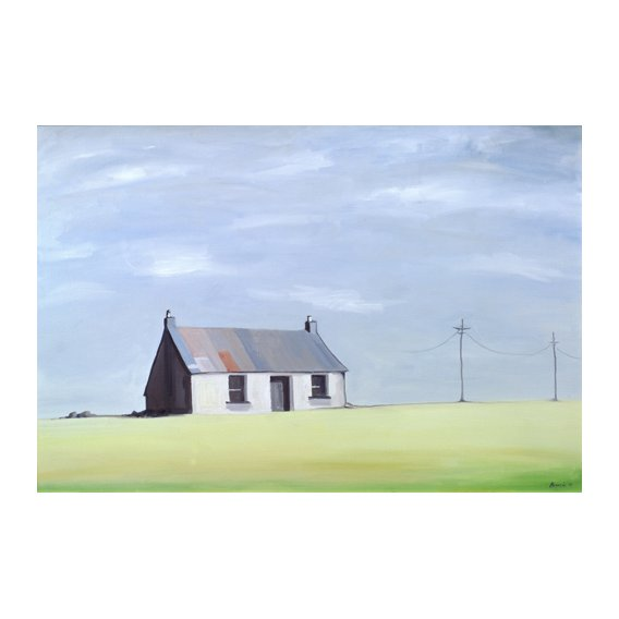 Quadro -This Old House (oil on canvas)-