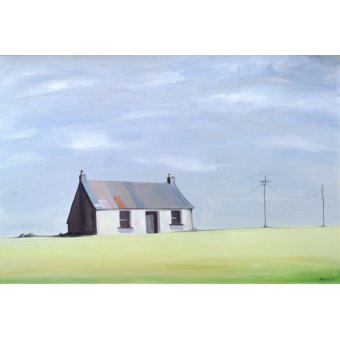 - Quadro -This Old House (oil on canvas)- - Bianchi, Ana