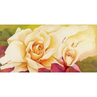 quadros de flores - Quadro -The Rose, 2001- - Sim, Myung-Bo