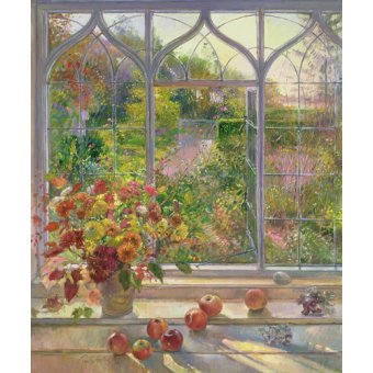 - Quadro -Autumn Windows, 1993- - Easton, Timothy