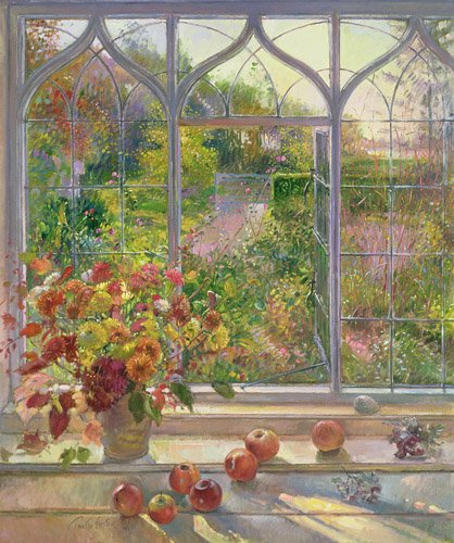 quadros-para-sala-de-jantar - Quadro -Autumn Windows, 1993- - Easton, Timothy