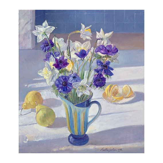 Quadro -Spring Flowers and Lemons, 1994 -