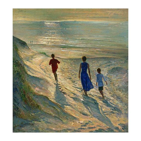 Quadro - Beach Walk, 1994 -