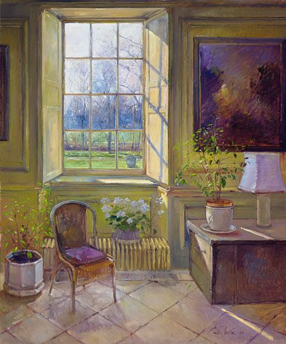quadros-para-sala-de-jantar - Quadro -Spring Light and The Tangerine Trees - - Easton, Timothy
