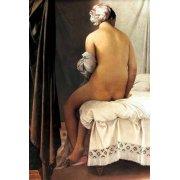 Quadro -La bañista de Valpincon, 1808-