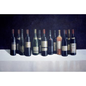naturezas mortas - Quadro -Winescape, 1998 - - Seligman, Lincoln
