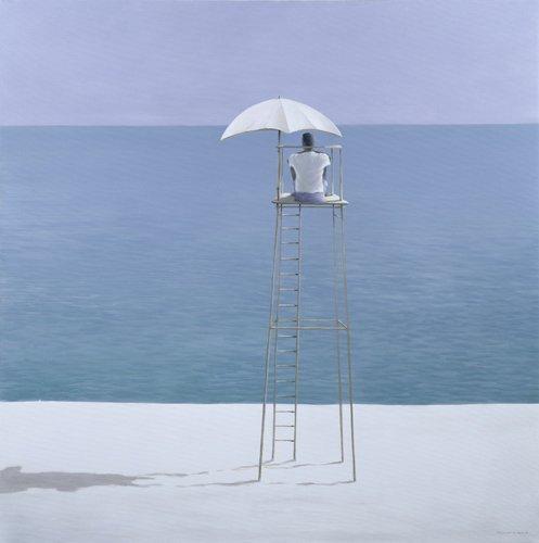 cuadros-decorativos - Quadro -Beach Guard, 2004 - - Seligman, Lincoln