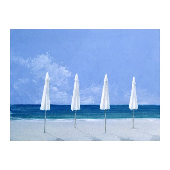Quadro -Beach Umbrellas, 2005 -