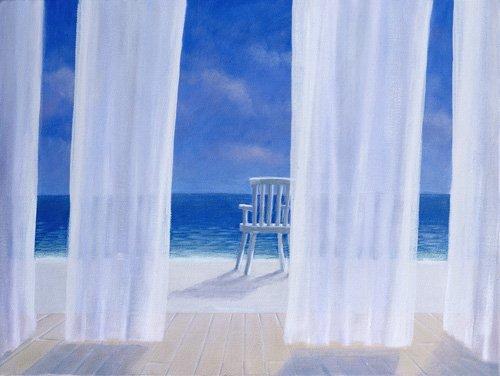 quadros-de-paisagens-marinhas - Quadro -Cabana, 2005 - - Seligman, Lincoln