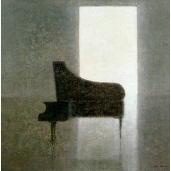 naturezas mortas - Quadro -Piano Room, 2005 - - Seligman, Lincoln