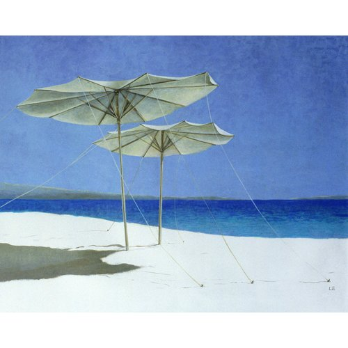 Quadro -Umbrellas, Greece, 1995 -