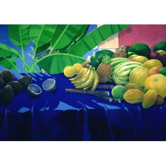 naturezas mortas - Quadro -Tropical Fruit - - Seligman, Lincoln