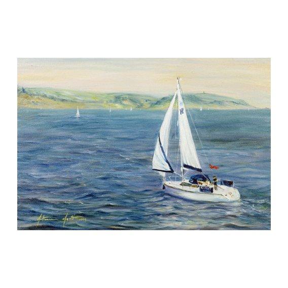 Quadro - Sailing Home, 1999 -