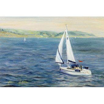 - Quadro - Sailing Home, 1999 - - Myatt, Antonia
